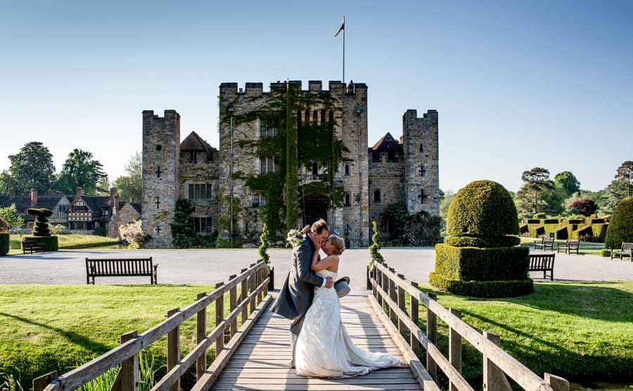 Hever Castle Wedding Photographer