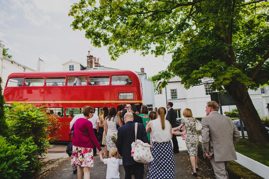 routemaster wedding