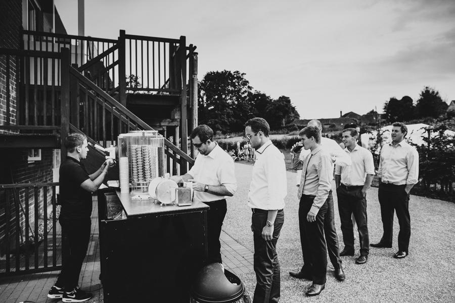 ice cream at weddings