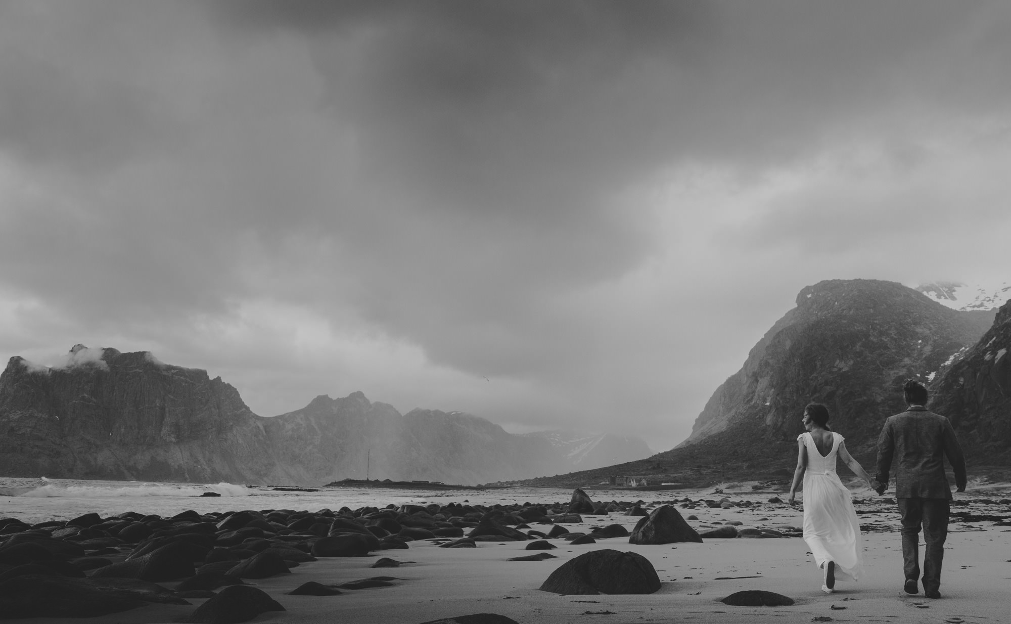 lofoten elopement photos