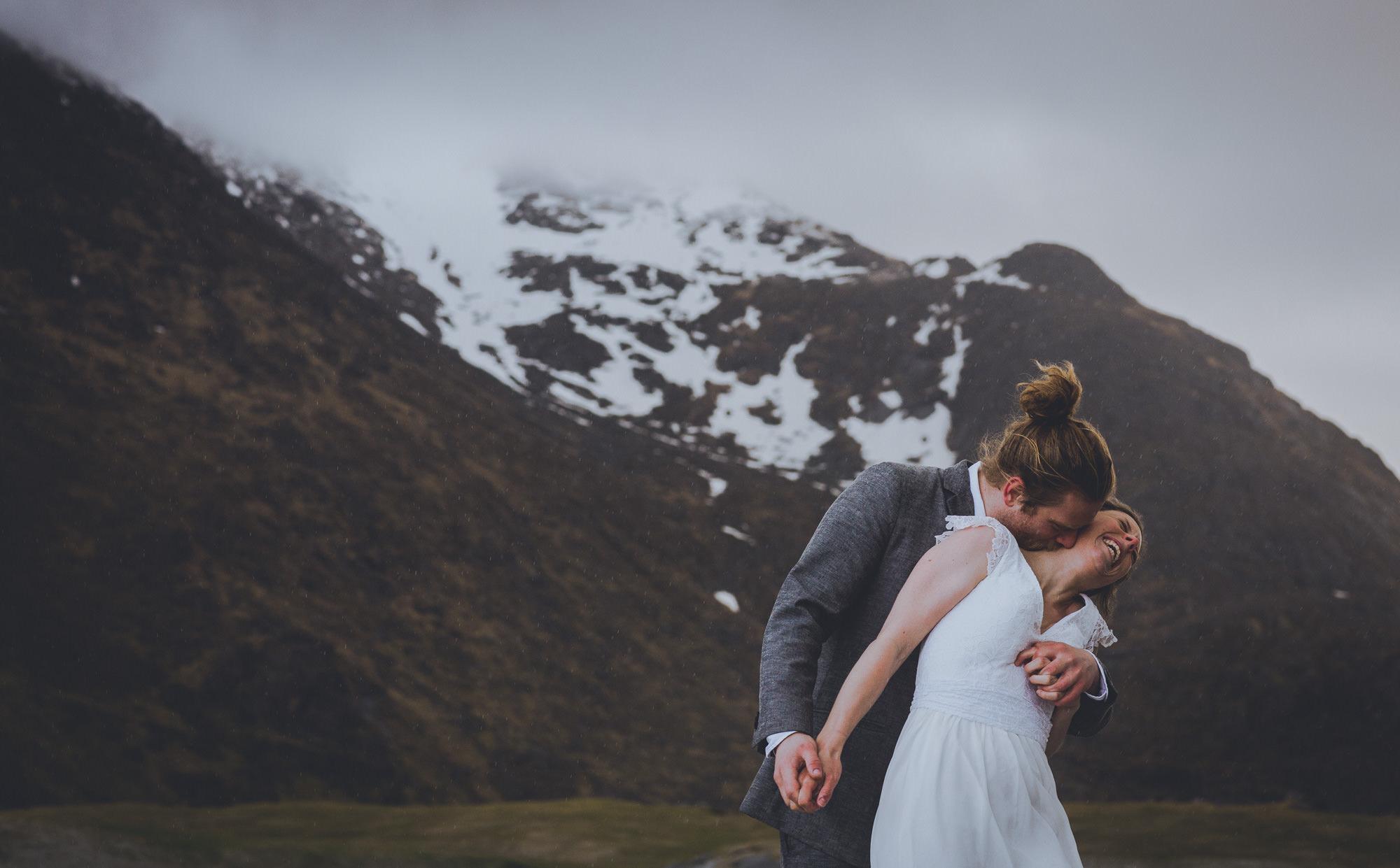 wedding photos in lofoten