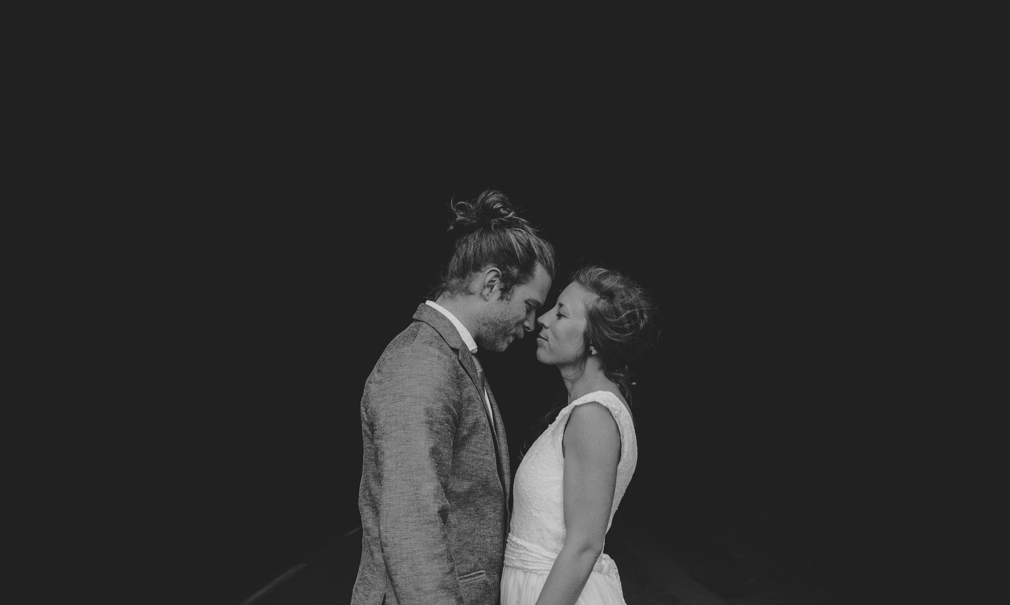 natural lofoten wedding
