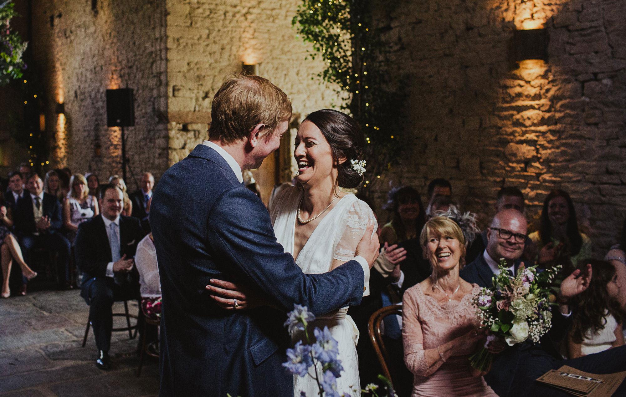 Wedding at Cripps Barn