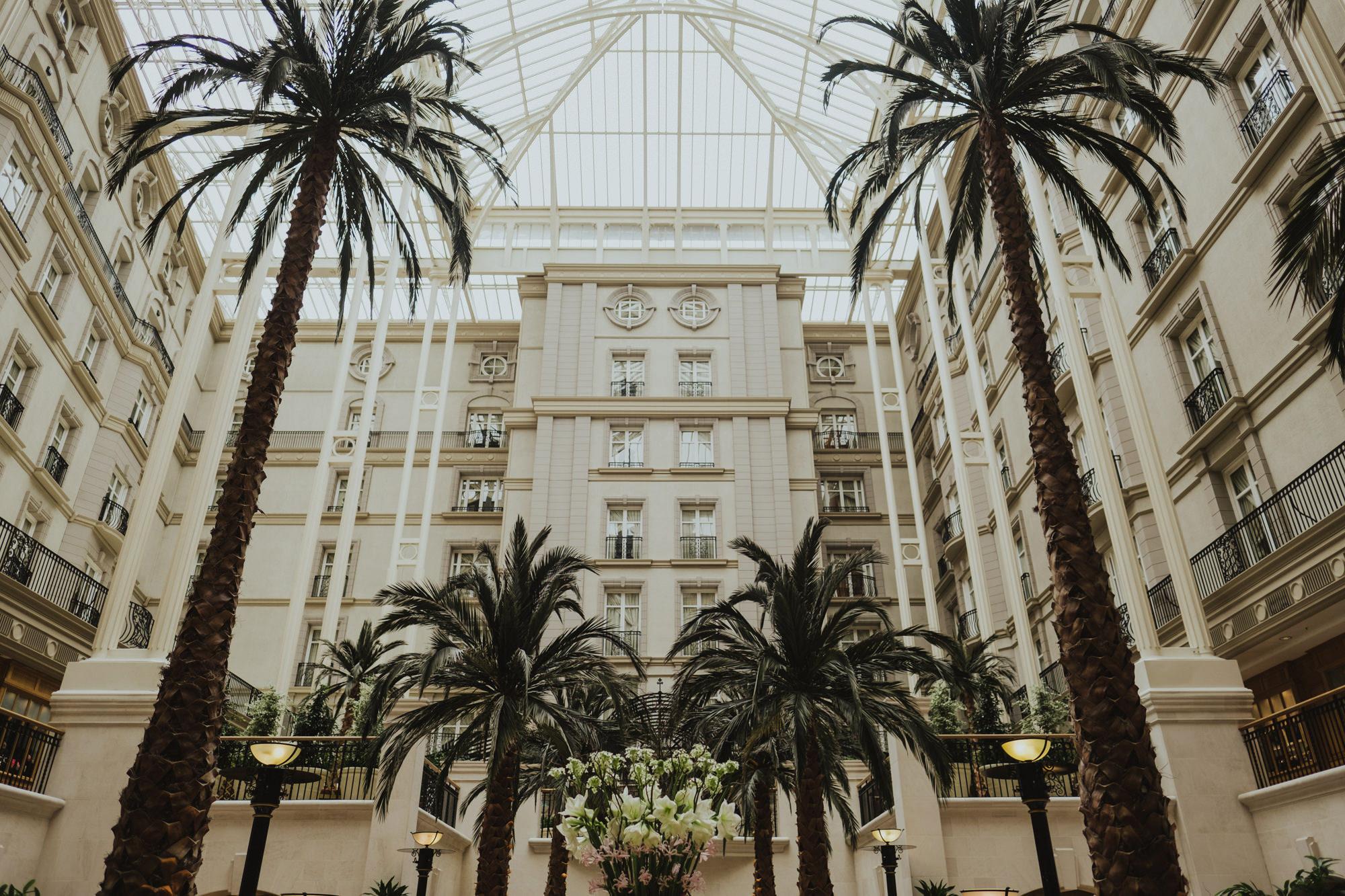 landmark hotel wedding luke and camilla
