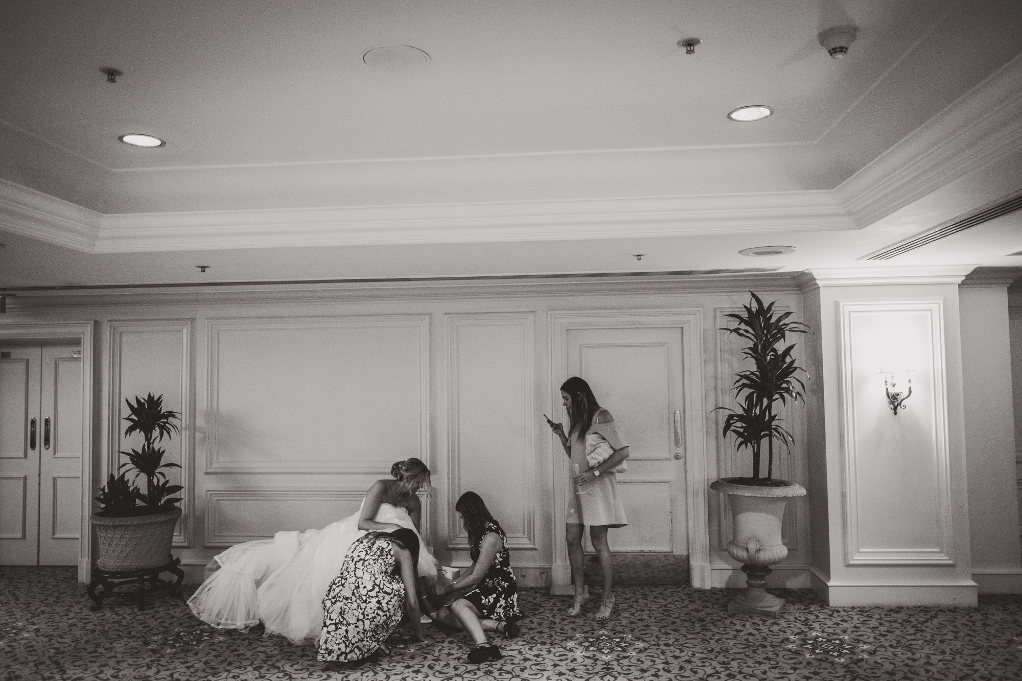 Landmark Hotel Wedding Photos