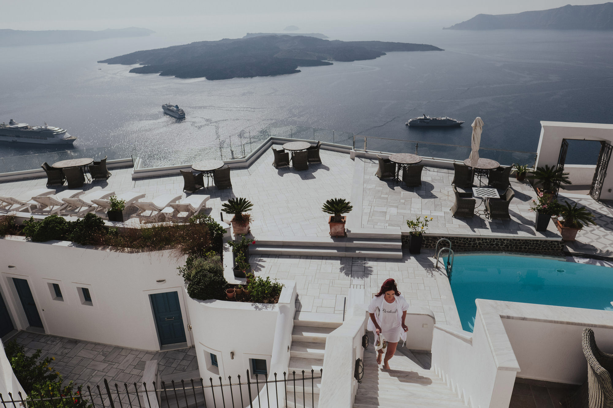 Natural Wedding Photography Santorini