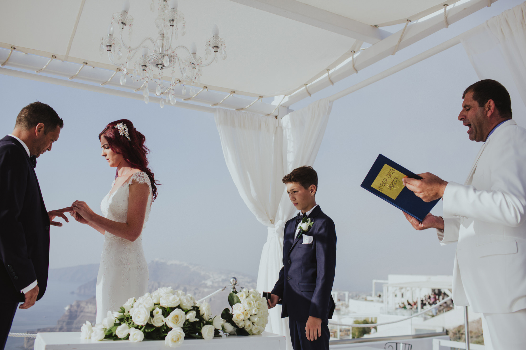Santorini Gem Wedding Photographer