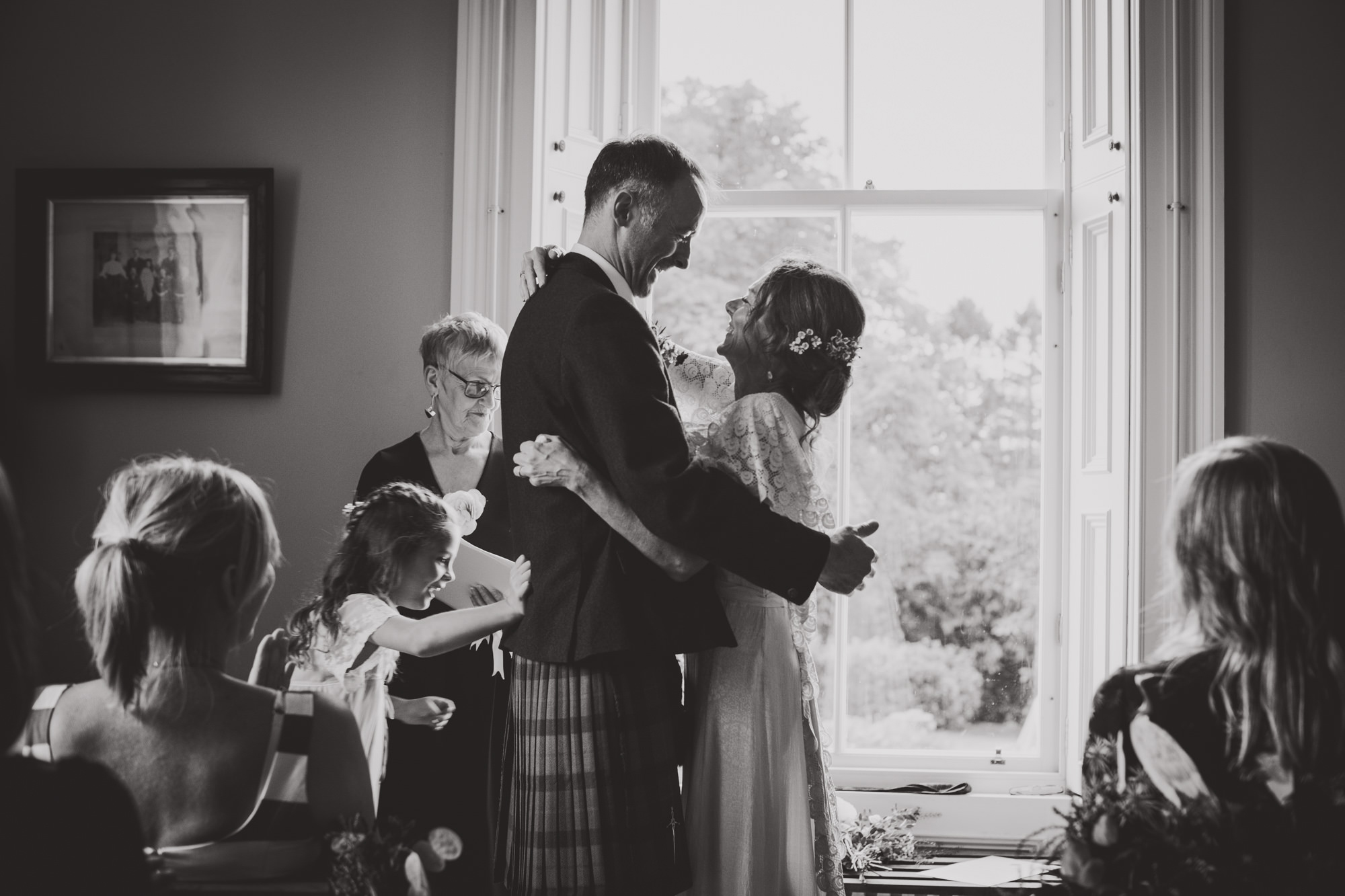 Natural Scottish Wedding Photography