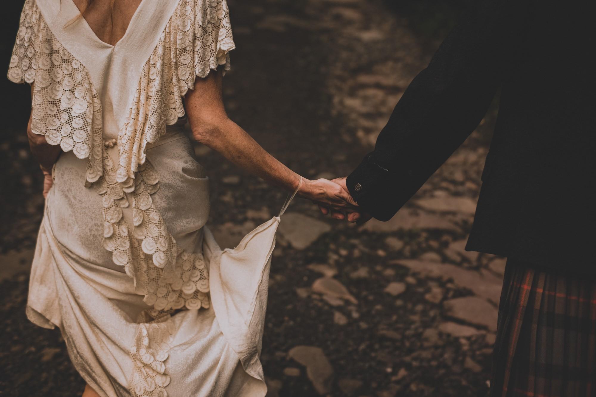 Natural Scottish Wedding