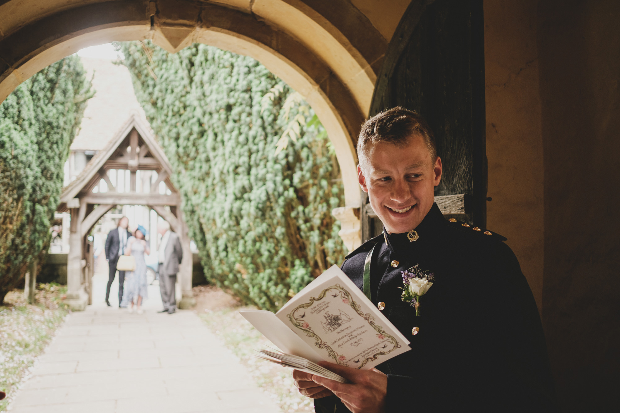 Chiddingstone Wedding