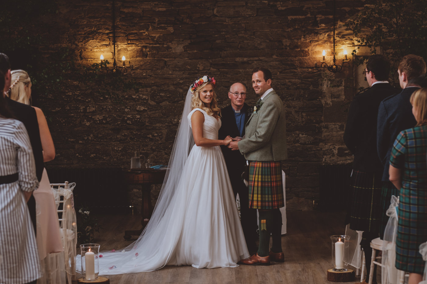 Wedding at Ackergill Tower
