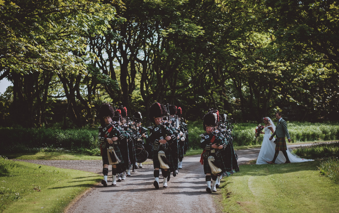 Ackergill Tower Wedding Photography