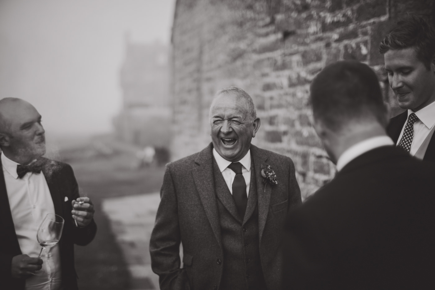 Outdoor Scottish Wedding