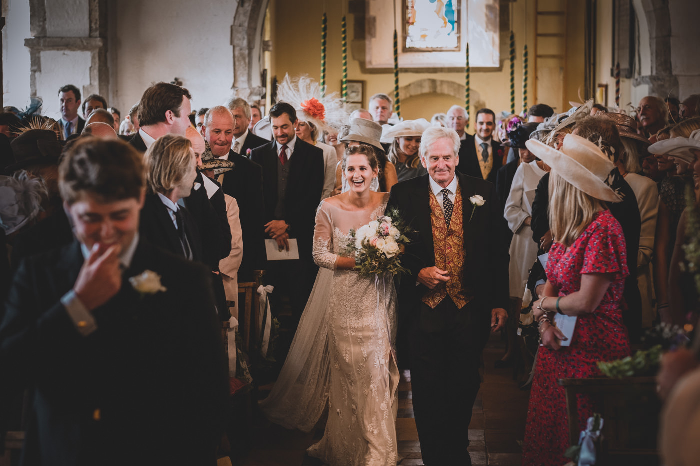 Peasmarsh Church Wedding