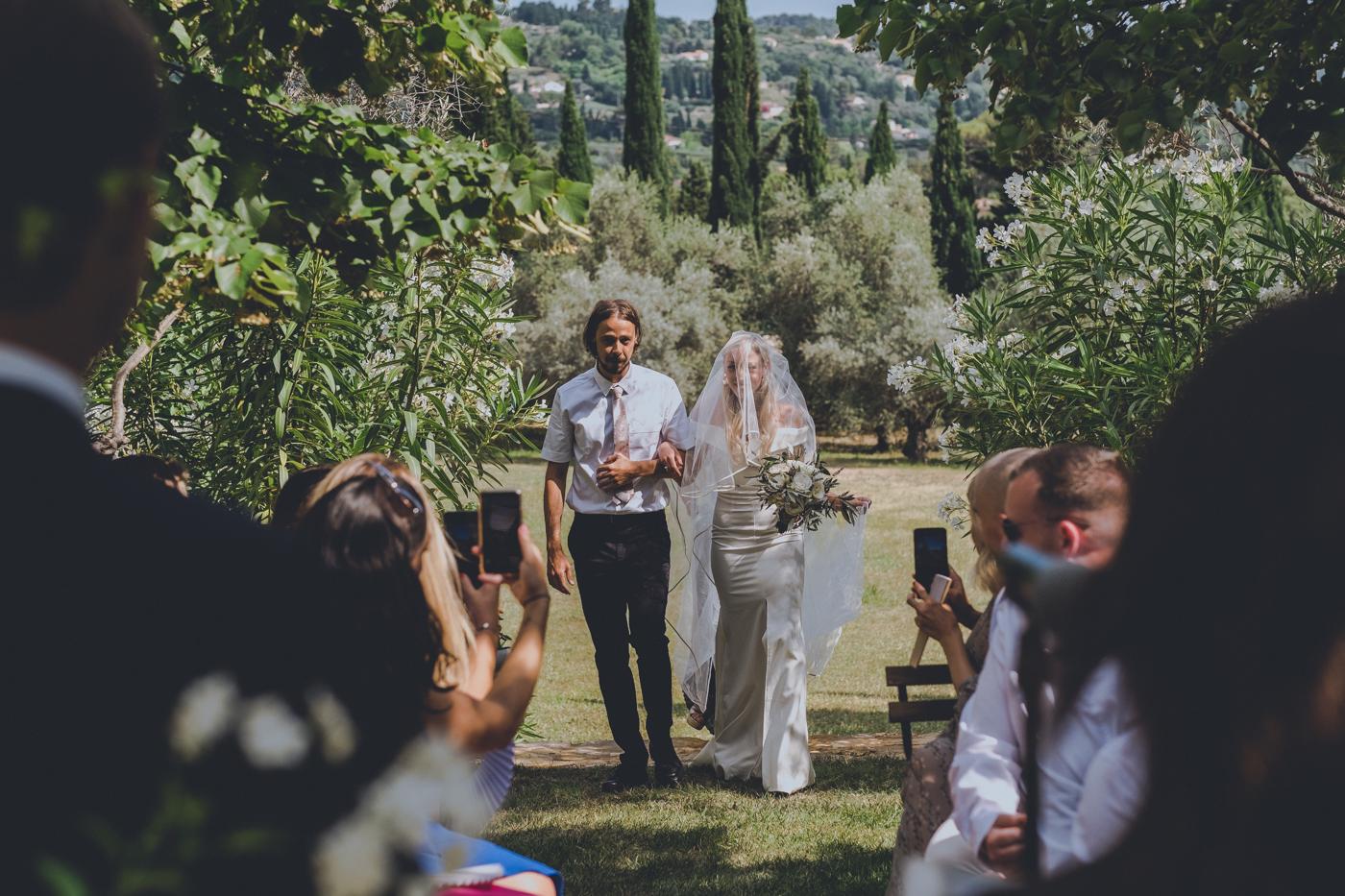French Documentary Wedding